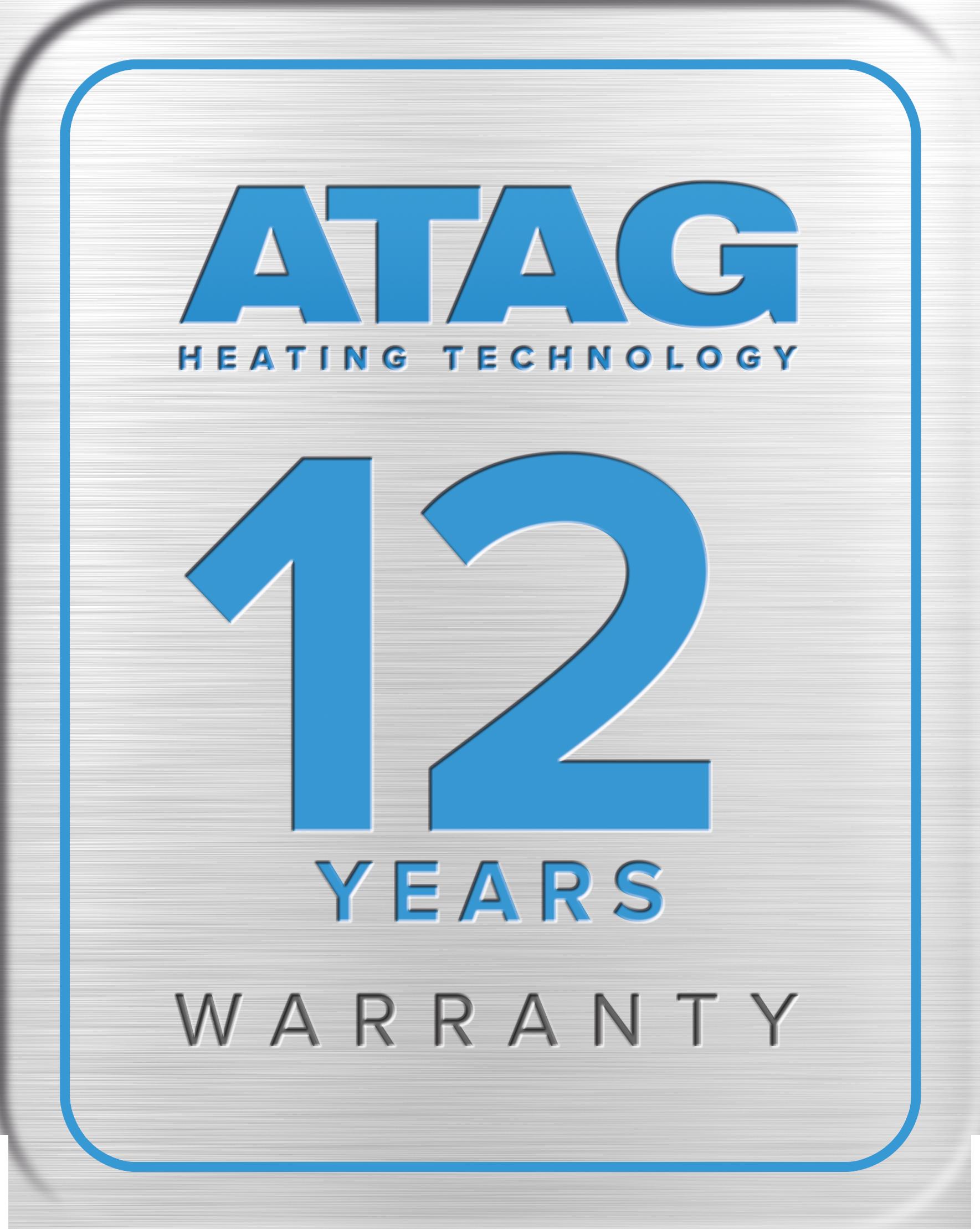 ATAG 12 YEARS Warranty 300 dpi