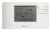 7 day single channel digital wireless programmer and room thermostat