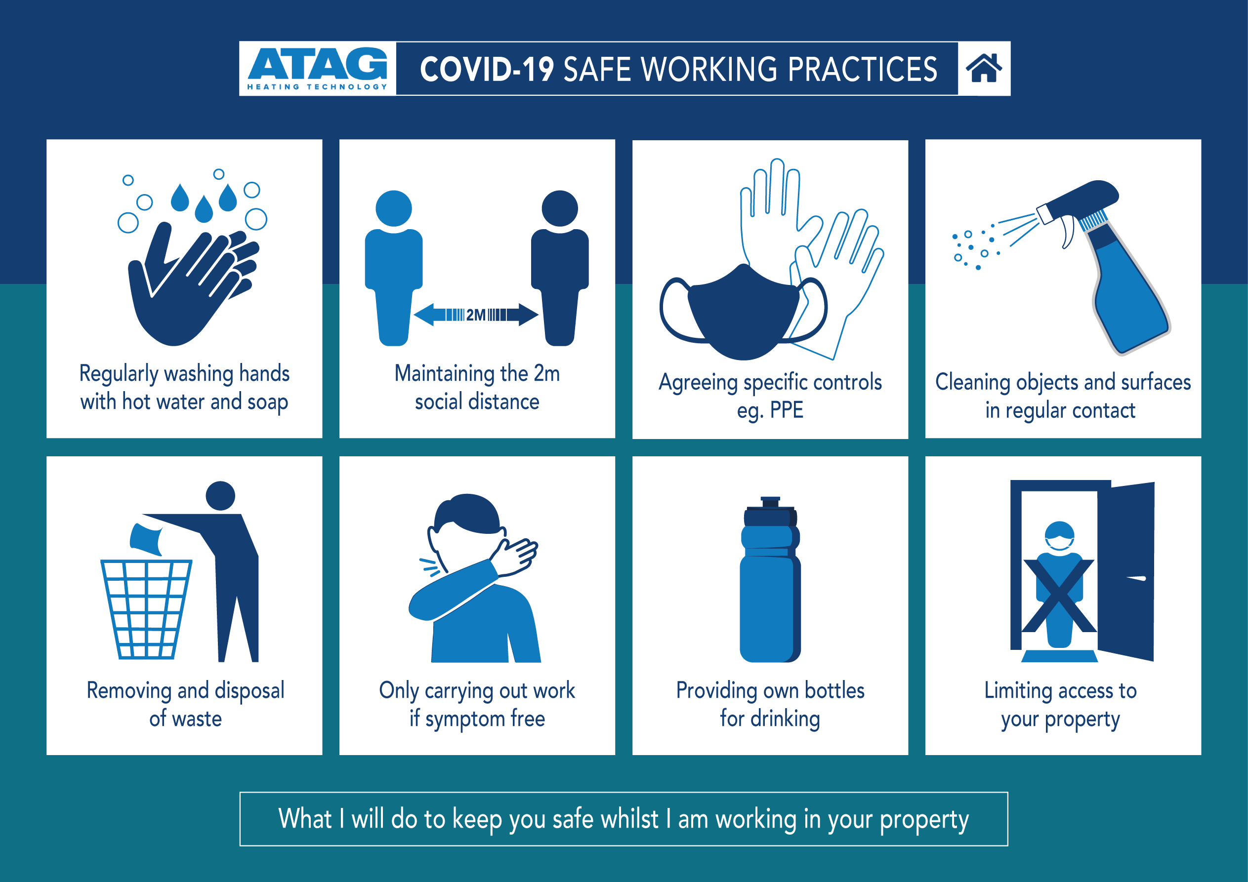 Working Safely Infographic